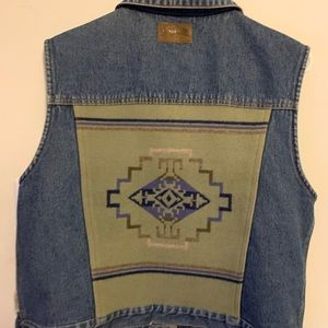Pendleton Large Jean Jacket Denim Wool